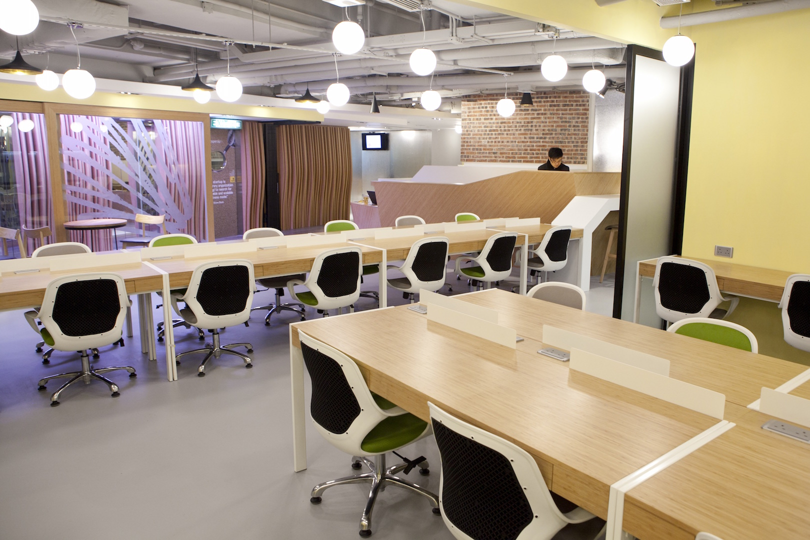 Kowrk Paperclip Shared Office Space Hong Kong
