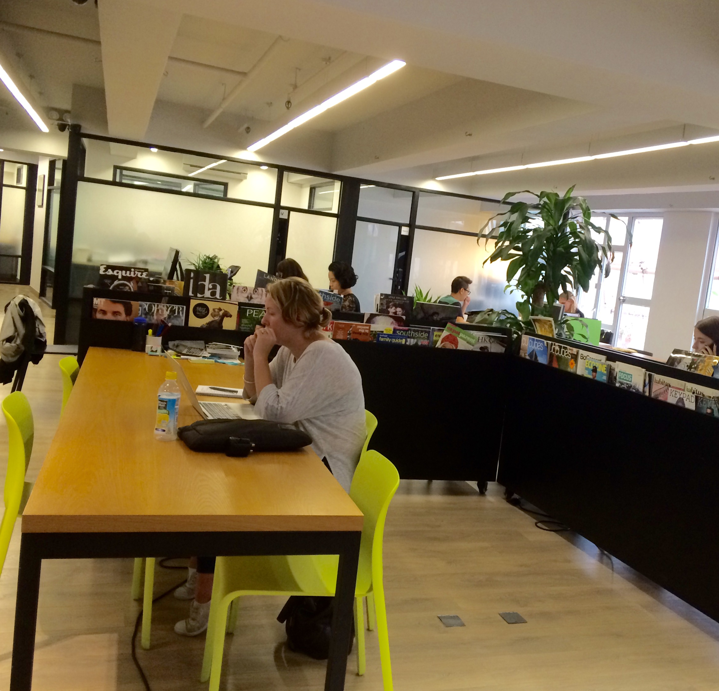 Kowrk WYND coworking Space central Hong Kong