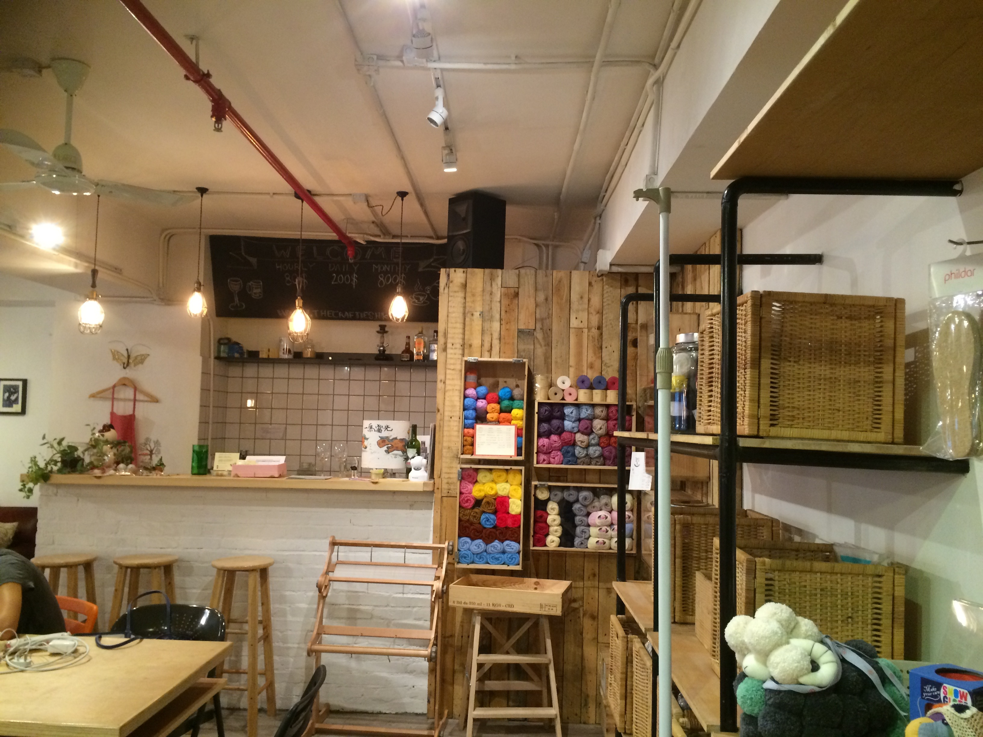kowrk crafties coworking space sheung wan Hong Kong