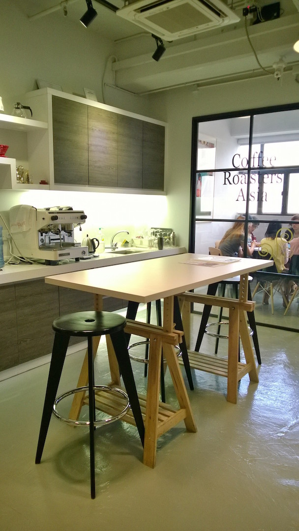Kowrk Coffee house coworking space kwon tong Hong kong