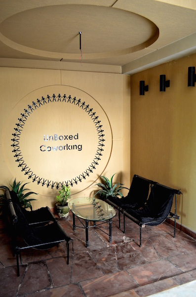 Waiting Area Unboxed Coworking Space - Kowrk