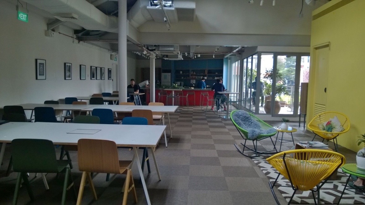 the working capitol kowrk coworking space Keong Saik Singapore