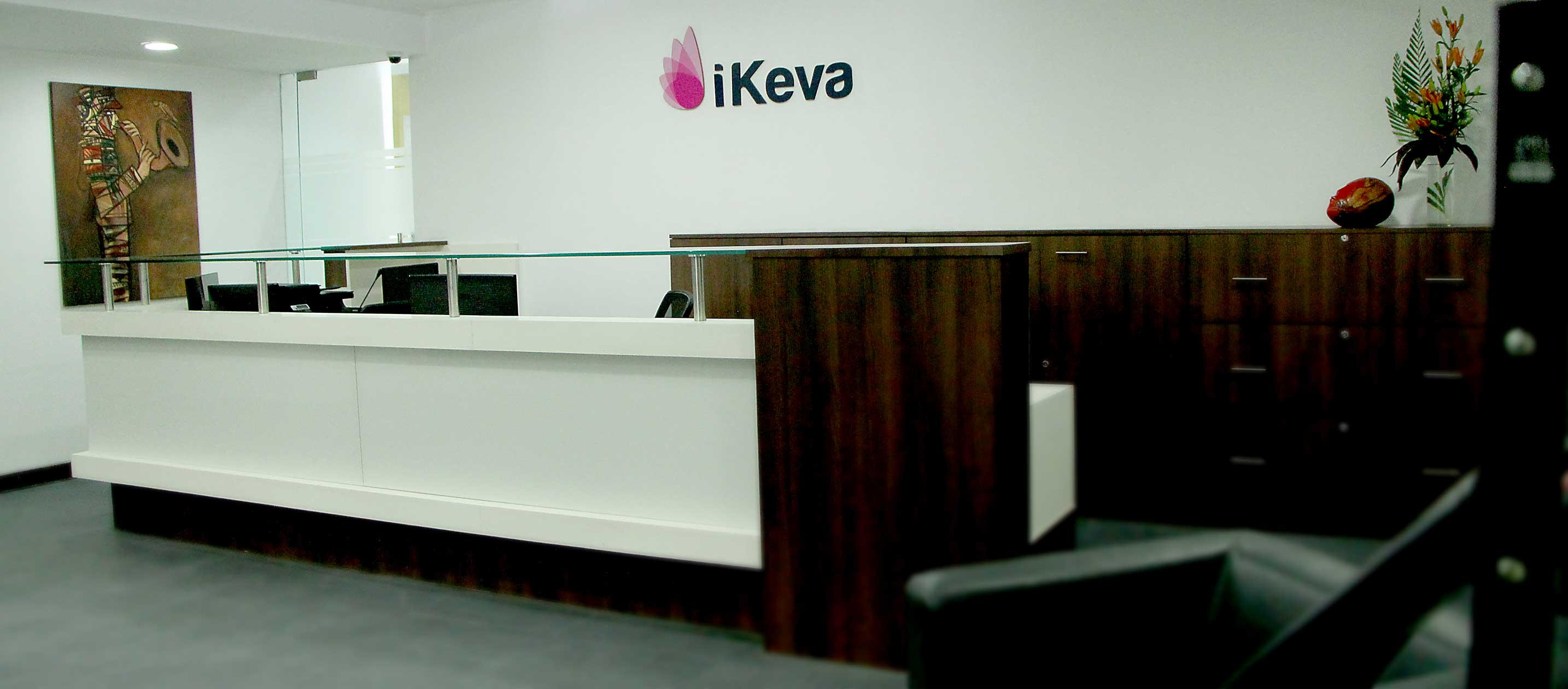iKeva Hyderabad Banjara Hills Kowrk office reception