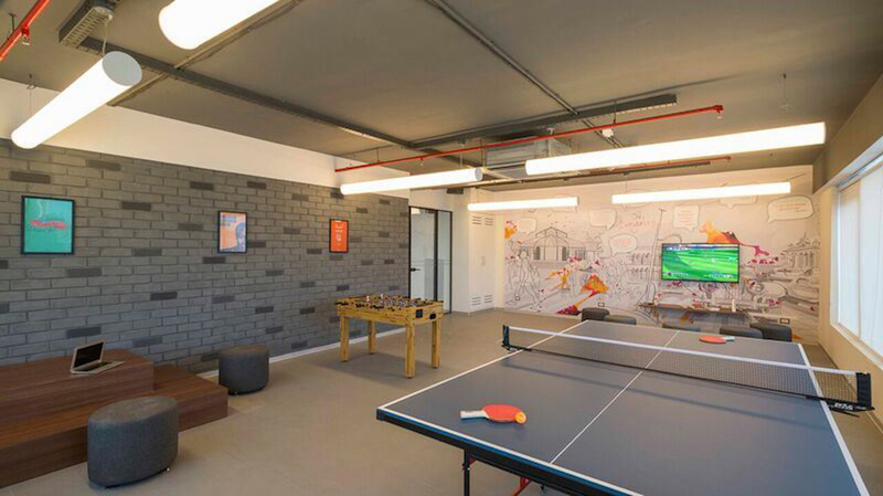 IShareSpace Bangalore coworking space business center kowrk recreation room