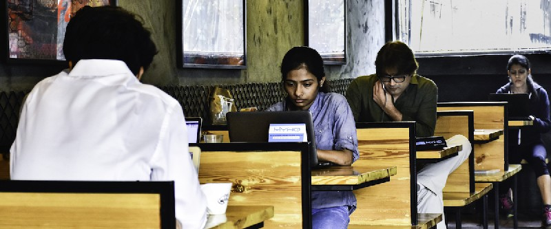 Coworking Cafe Qahwa Cafe Delhi