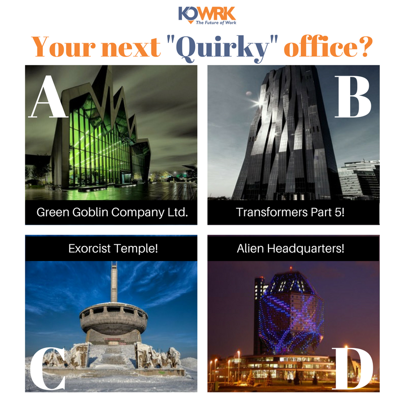Chose your office building Kowrk