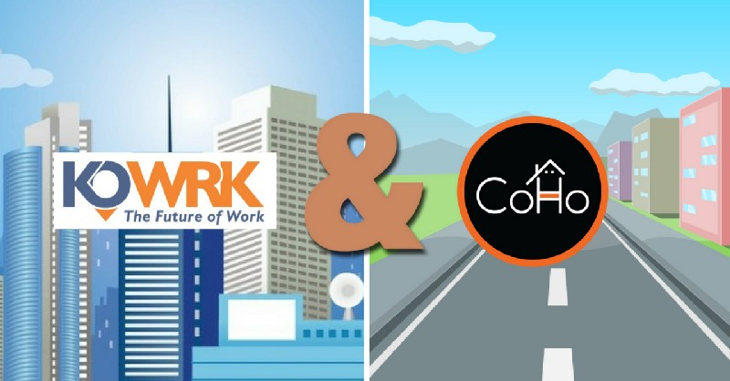Shared Economy coworking and co-living
