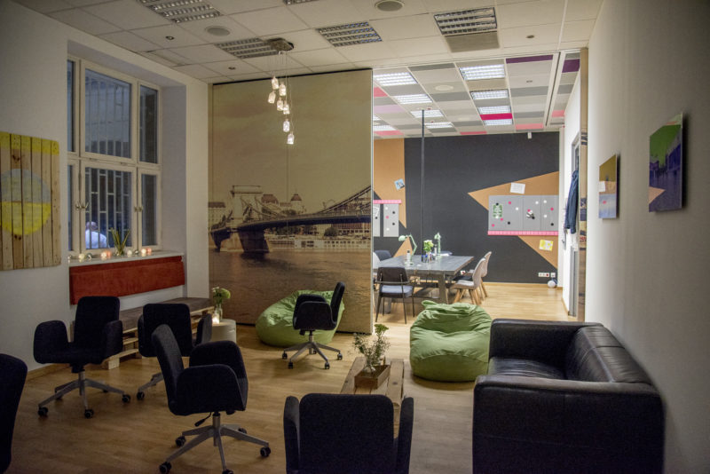 New Work Labs Coworking Space Budapest Hungary