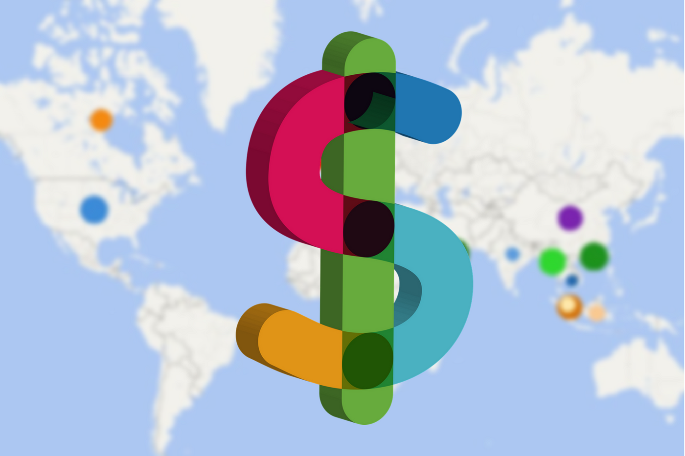 Price Heat Map Coworking Trends Across The World