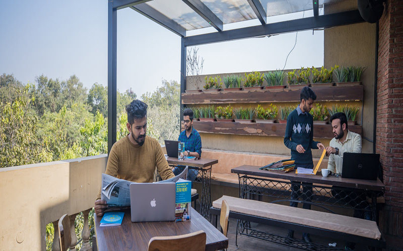 Coworking Cafe Connaught Place New Delhi