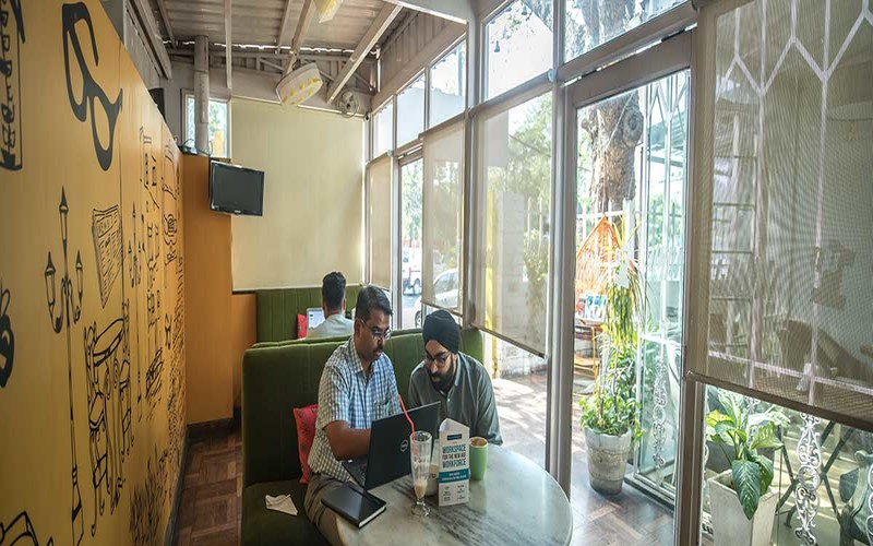 Coworking Cafe Civil Lines